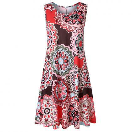 Women Casual Dress Summer Beach Sle..