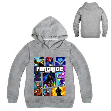 Fashion Boys Girls Sweatshirt Sprin..
