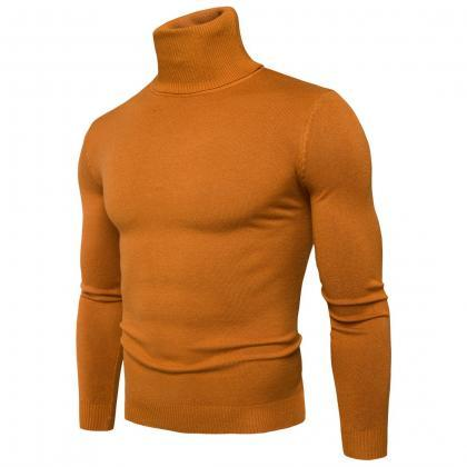 Men Knitted Sweater Autumn Winter T..