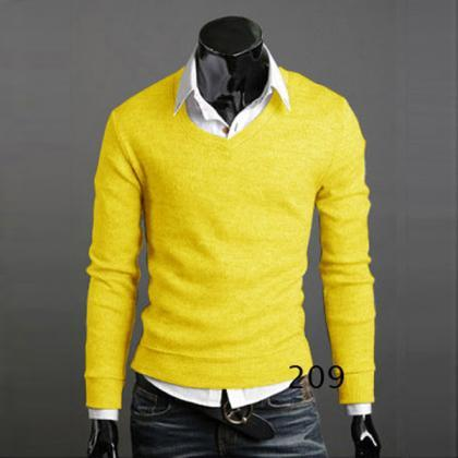 Men Knitwear Sweater Spring Autumn..