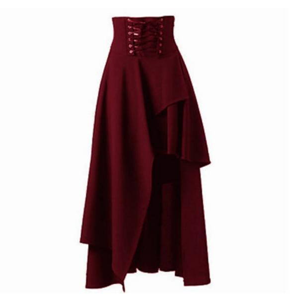 Gothic Steampunk Skirt Lo..