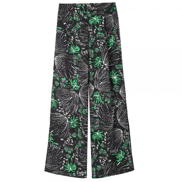 Women Floral Printed Wide ..